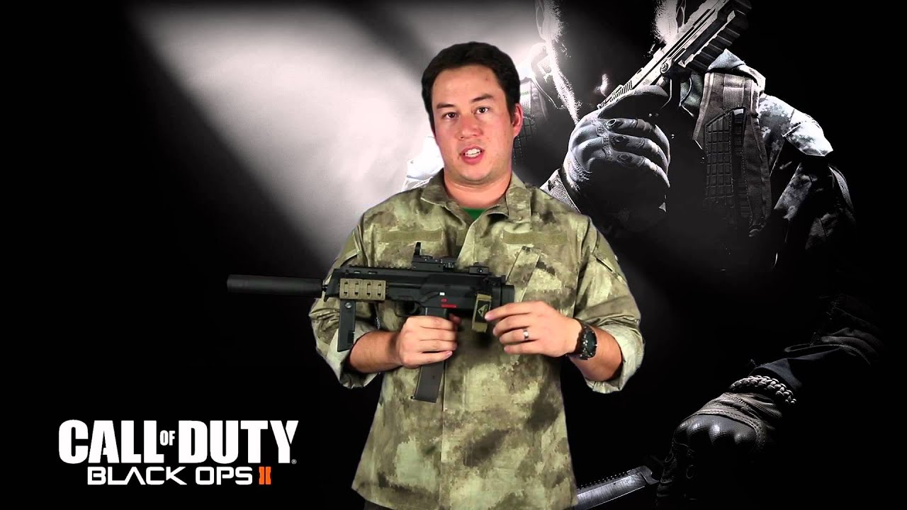 Airsoft Gi Call Of Duty Black Ops 2 Inspired Kwa Mp7 Gbb Smg Youtube