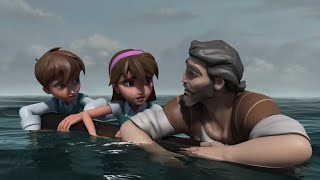 Superbook - Jonah - Seąson 2 Episode 1 - Full Episode (Official HD Version)