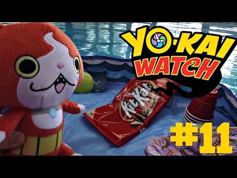 Yokai watch plush - Episode 11 Jibanyan's Chocolate