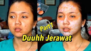 Download Video Part1 Tutorial Makeup Mengatasi Wajah Berminyak Berjerawat dan Kusam by ARI IZAM MP3 3GP MP4