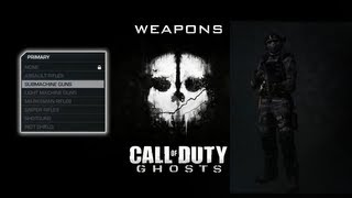 Call of Duty: Ghosts - Оружие