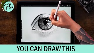 You Can Draw This EYE in PROCREATE