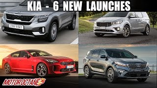Kia 6-8 new launches in 3 years | Hindi | MotorOctane