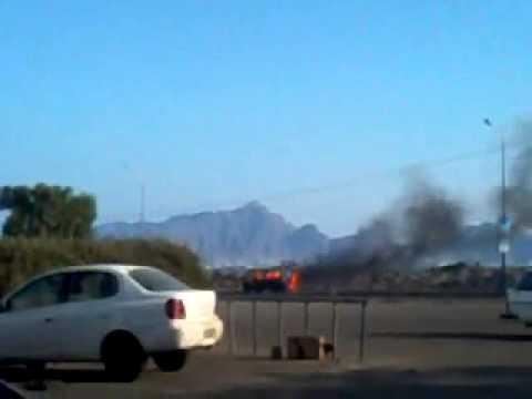 Fighting at burehi intl hospital, Aden Yemen