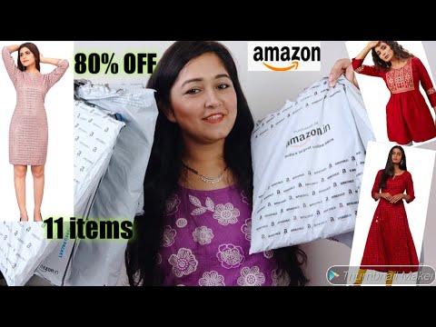 Amazon Partywear/Birthday Dresses , Festive Kurti Haul Start Rs:299 || Sale 80% Off #Amazon