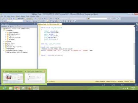 Database Testing online training videos - Basics of Database testing - SQL