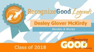 2018 Legends - Desley  Glover McKirdy