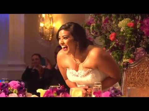 Groom Surprises Bride With Evolution of Dance