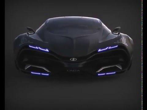 lada raven concept car 2013 видео