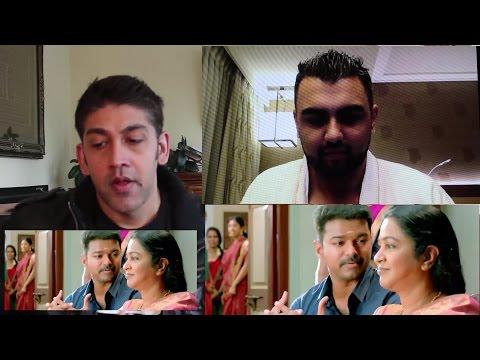 Theri Trailer Reaction   Vijay, Samantha, Amy Jackson
