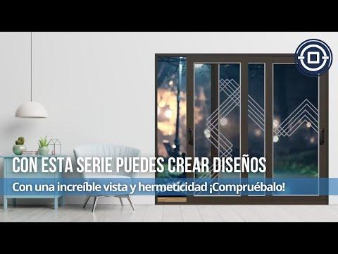 Ventana y puerta corrediza serie 70 youtube for Puerta ventana de aluminio corrediza