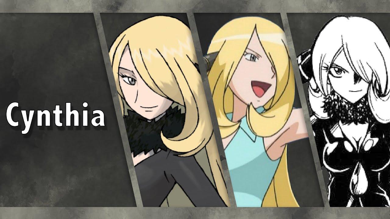 pokemon character study cynthia youtube
