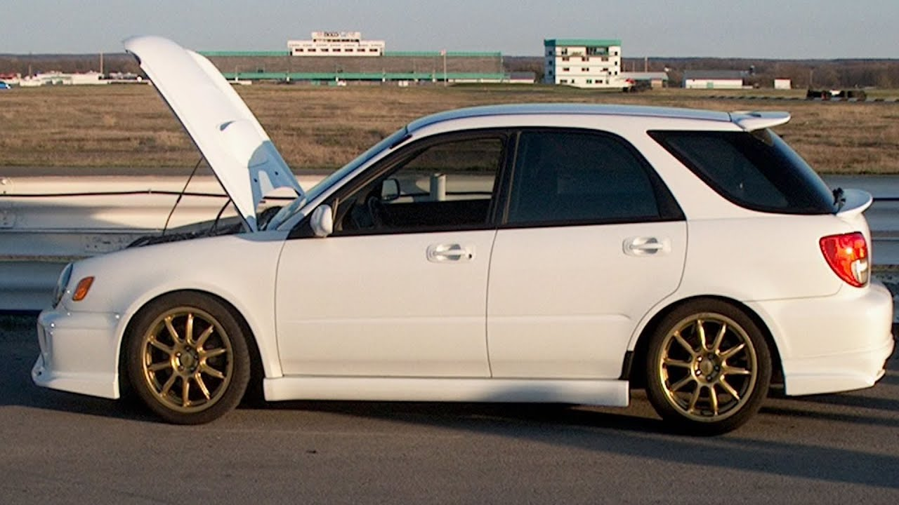 2002 subaru wrx wagon 260 hp cold start up youtube vanachro Images