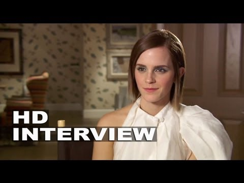 The Perks of Being A Wallflower: Emma Watson Interview Part 1