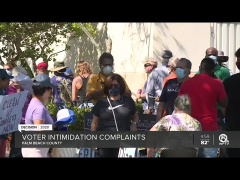 Reports Of Voter Intimidation Outside Early-voting Location Near Lantana