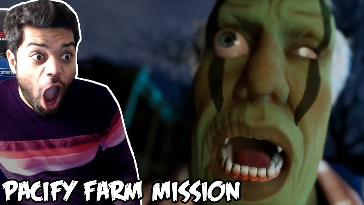 This Is Getting Scarier | Pacify Funny Moments Part 3 (Farm Mission) !!!