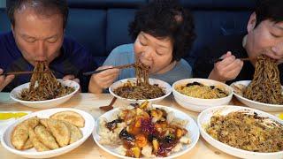 언제 먹어도 맛있는 중식 세트~ [[짜장면,짬뽕,탕수육…