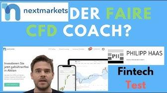 Nextmarkets App - Faires CFD Trading durch Investmemtcoaches und  Spar CFD - Test und Erfahrung