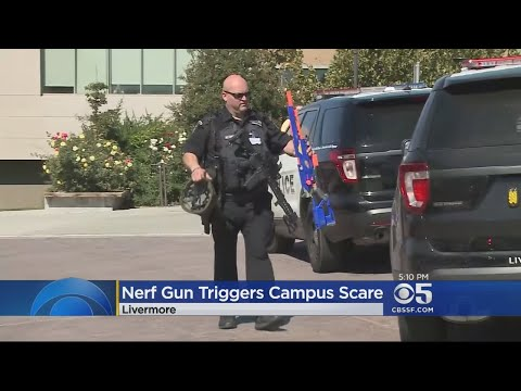 Nerf Gun Prompts Lockdown Of Las Positas College In Livermore