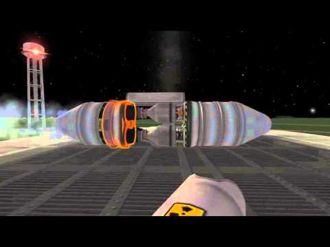 Kerbal Space Program: Nuclear Bomb Test