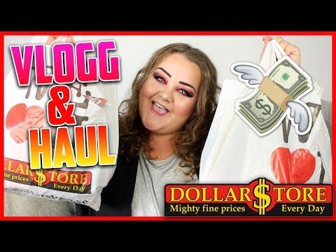 DOLLARSTORE VLOGG + HAUL