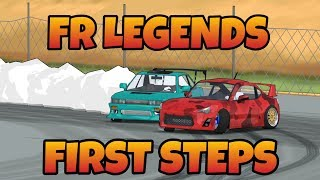 FR LEGENDS - First Steps | Tuning | Styling | Tandems