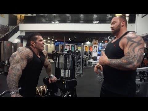 "A DAY WITH THOR ""THE MOUNTAIN"" - 6'9 400LBS - TRAINING GOLDS - EATING BEVERLY HILLS"