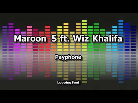 Maroon 5 ft. Wiz Khalifa - Payphone - Karaoke
