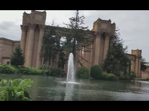 The Palace of Fine Arts- second half of our adventure