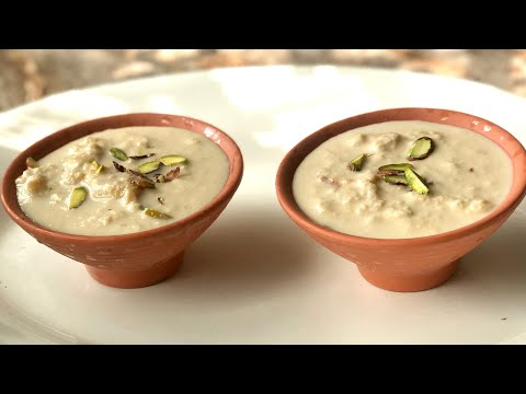 Rabdi recipe | lachhedar rabri recipe | famous North Indian dessert recipe