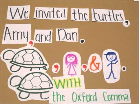 oxford comma movie