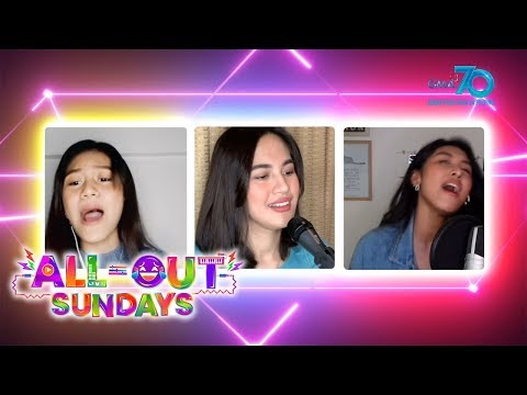 """All-Out Sundays: Julie Ann San Jose Sings """"Don't Start Now"""" With Former Clashers"""