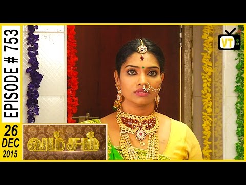 Muthu and Thangaamma  searching for Ponnurangam and Archana 2:40 Radha  is getting ready for her marriage 6:40 Rukmani and Supriya are discussing with worry how to stop the marriage , they plan to give vomiting tablet to the bride and try to kidnap her when she comes to restroom 12:04 Shankari gets a room key from the watch man and released Supriya and Rukmani from the room 20:36  Cast: Ramya Krishnan, Sai Kiran, Vijayakumar, Seema, Vadivukkarasi For more updates,  Subscribe us on:  https://www.youtube.com/user/VisionTi... Like Us on:  https://www.facebook.com/visiontimeindia
