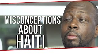 MISCONCEPTIONS ABOUT HAITI    Wyclef Jean on London Real - Fugees