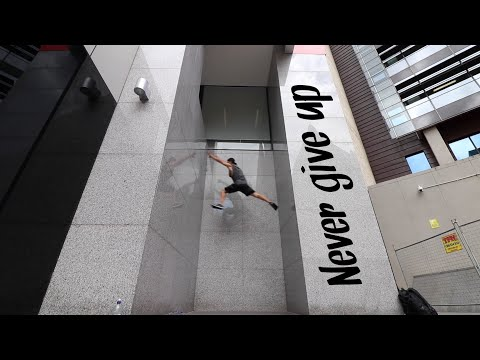 Parkour Pro Climbs A Wall Like A Freaking Video Game Character