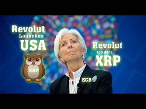 ECB #XRP Backed Revolut Launches in US. Ripple Executive Says Crypto and Blockchain Will Transform 1
