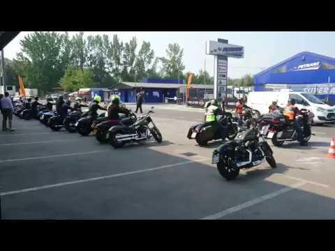 Harley Davidson event Ljubljana 24 th of june 2017