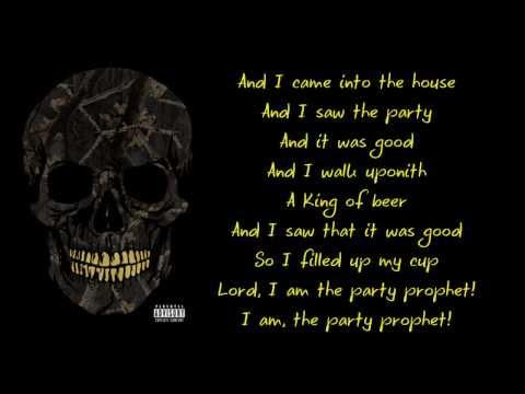 Yelawolf ft. DJ Paul || Party Prophet (Lyrics) HD