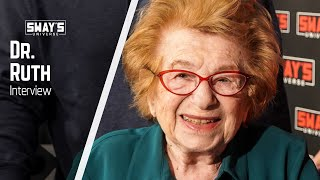 Sex Therapist Dr. Ruth Talks Sex And Gives Advice to Couples | Sway's Universe