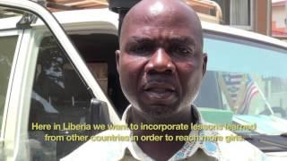 HPV vaccinations in Liberia 2016
