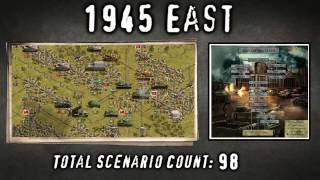 Panzer Corps Grand Campaigns Mega Pack Promo Video