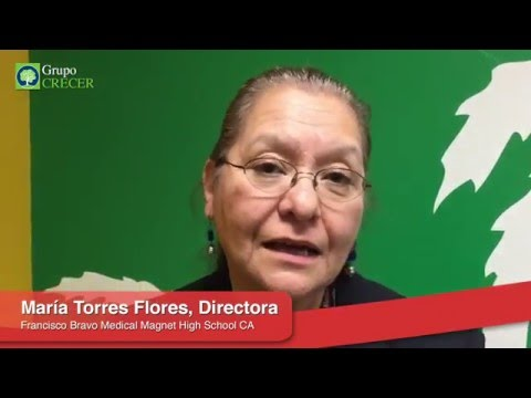 Testimonio María Torres Flores | Francisco Bravo Medical Magnet High School | Grupo Crecer