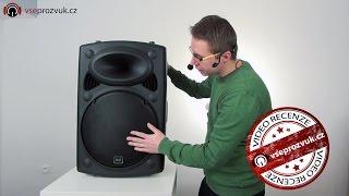 Reproduktor QTX QR 15 a QTX QR 12 (video recenze VŠEPROZVUK.cz)