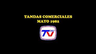 Tandas Comerciales TVN @ Mayo 1982