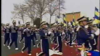 Jessica's HS Band in Philadelphia's Thanksgiving Day Parade. Look f...