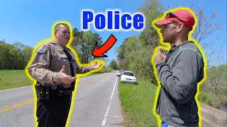 We Got Stopped By The Police While Magnet Fishing (Was This Legal)