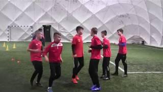 CZ4-Szabełki na Obozie z Iskrą Kochlice-Głuchołazy-Banderoza 2019 - I Trening Pod Balonem