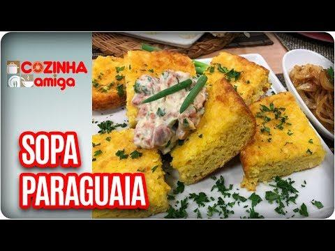 Sopa Paraguaia  - Patricia Gonçalves  | Cozinha Amiga (21/02/18)