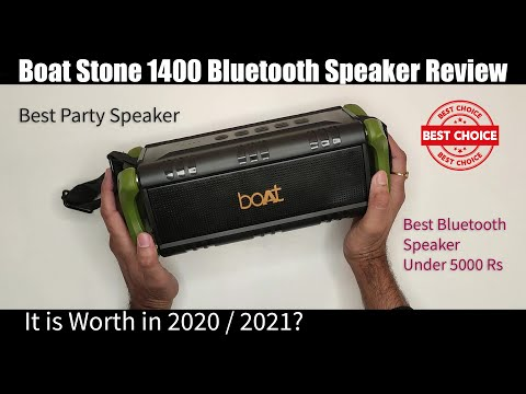Boat Stone 1400 Bluetooth Speaker Review, Best Bluetooth Speaker Under 5000 Rs in India Search&Share