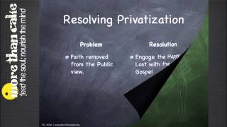 The Problem of Privatization